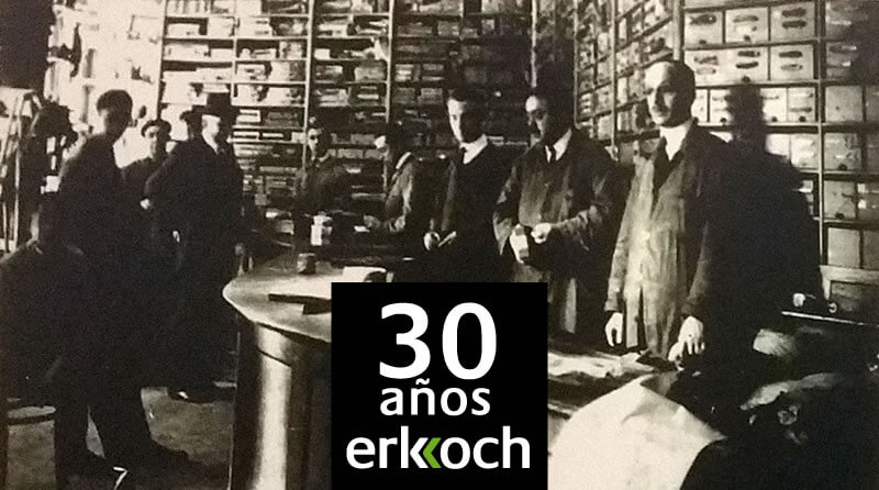 30 aniversario de erkoch